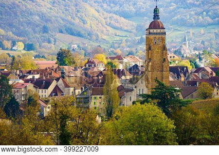 Arbois Town In France