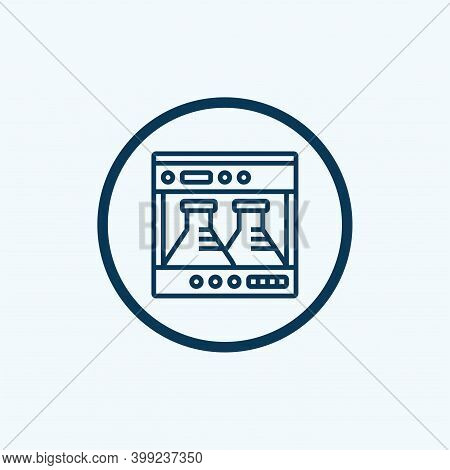 Medical Lab Icon Isolated On White Background From Coronavirus Collection. Medical Lab Icon Trendy A
