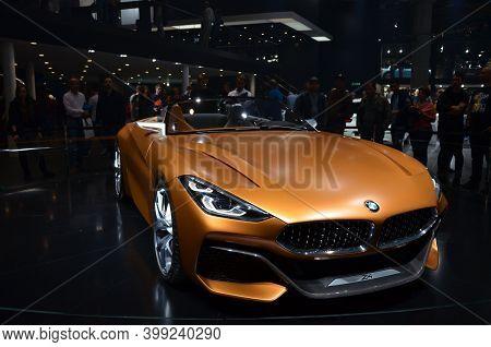 Frankfurt Am Main, Germany - 09.24.2017: Frankfurt Motor Show 2017 In Germany