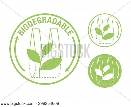 Biodegradable Sticker - Packet Turns To Plant Branch - Eco Friendly Compostable Material Production