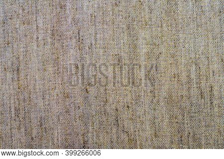 Surface Of Textile Flax Fabric Wickerwork Texture