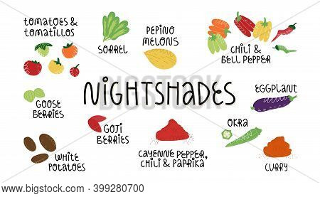 Nightshades Vegetables, Fruit And Which Is Needed To Be Avoid On Aip, Fodmap Diet, Anti-inflammatory