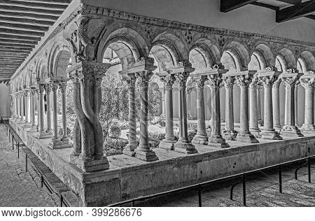 Cathedral Cloister In Aix-en-provence In Southern France