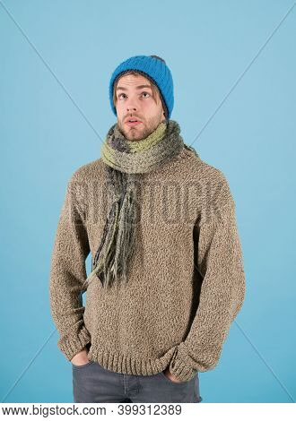 Homeless Man In Winter. Homeless Man In Winter Clothes. Homeless Shelter Is Needed. Winter Safety Is