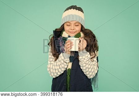 Hot Chocolate Recipe. Dessert Concept. Coffee Break. Hot Beverage. Idea For Warming. Happy Girl Hips