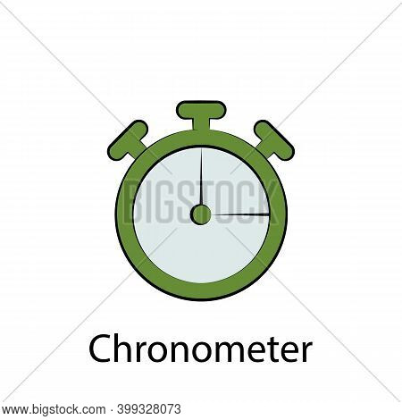 Fast Food Chronometer Outline Icon. Element Of Food Illustration Icon. Signs And Symbols Can Be Used