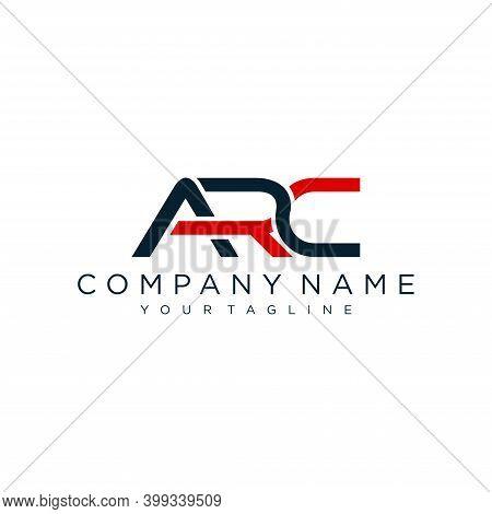 Modern Initial Arc Logo Design Vector, Abstract Logo Concept