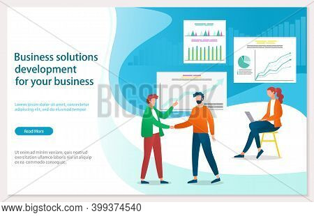 Business Solitions Development For Your Business Webpage Template. Creative Innovations, Path Of Mod