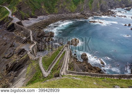 Bridge To San Juan De Gaztelugatxe, Basque Country, Spain