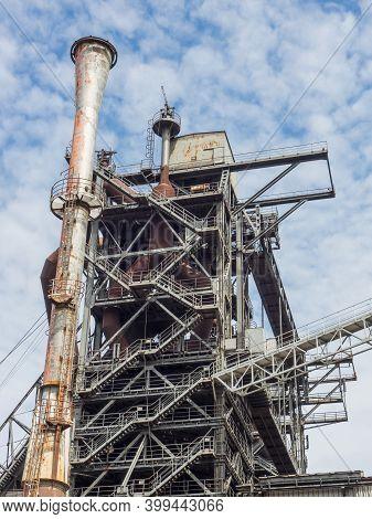 industrial ruins in the ruhr aerea in germany