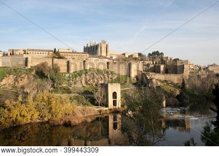 Views Of Toledo In Spain And The Tagus River, Taken On The 1st Of March 2007