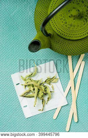 Lemon Verbena Tea With Lemon