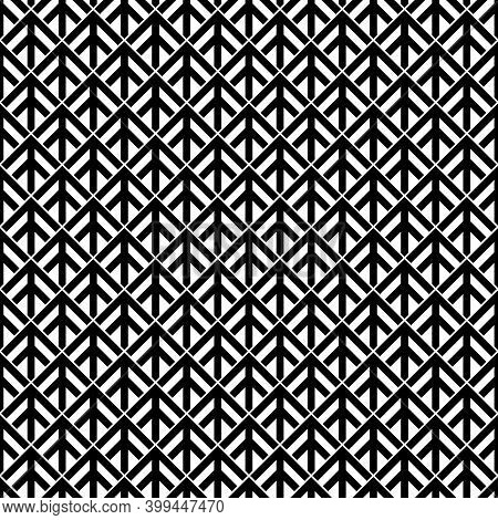 Seamless Arrows Pattern. Ancient Window Tracery Motif. Arrow Shapes Image. Ethnic Embroidery Wallpap