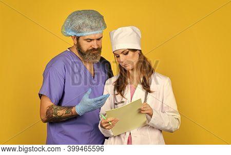 Medical Services. Diagnostics. Virus Epidemic. Medical Treatment. Surgeon Assistant. Nurse And Docto