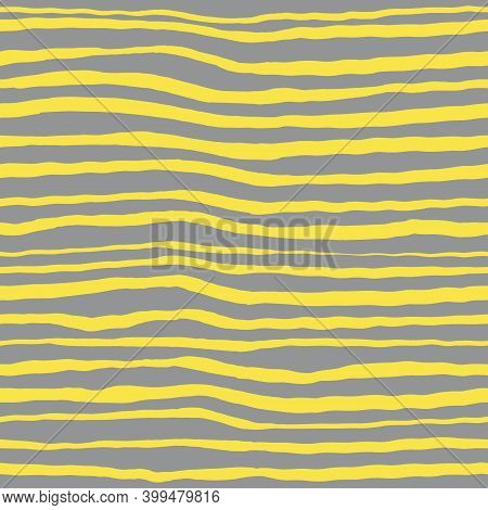 Trend Print Abstraction Yellow And Gray Trend And Color Of The Year 2021 Color Ultimate Gray And Ill