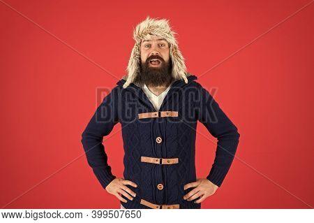 Fashion Menswear Shop. Masculine Clothes Concept. Winter Menswear. Clothes Design. Man Mature Bearde