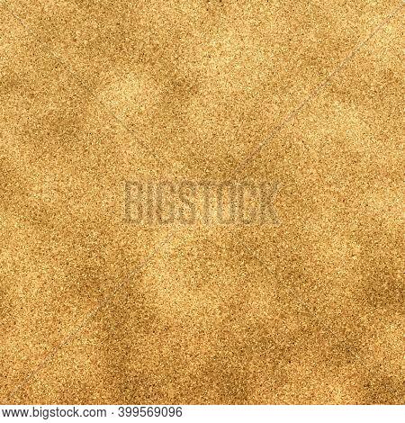 Luxury Golden Wallpaper. Metallic Effect Foil. Elegant Abstract Background. Gold Foil Texture. Reali