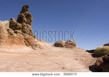 Mountain Desert Outcrop