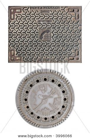 Telephone Hatch And Manhole Cover