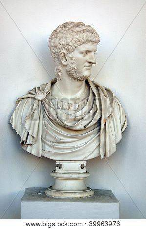 Sculpture (bust) of Nero