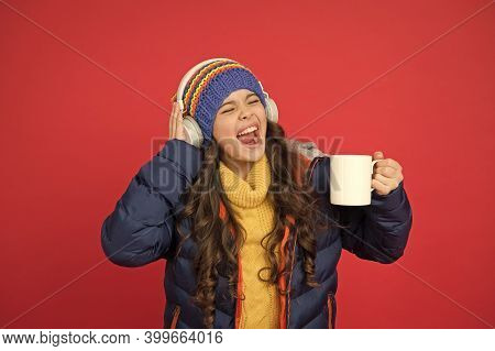 Music Taste. Weekend Begins Like That. Hipster Fashion Trend. Winter Holidays Activity. Feeling Warm