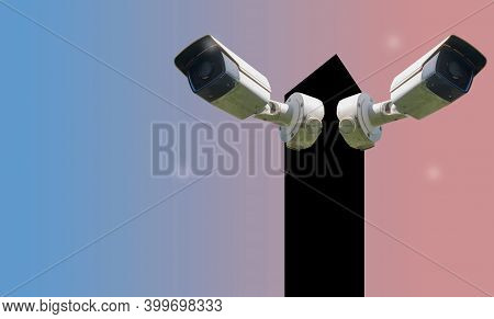 Cctv Camera System On Steel Pole, Technology, Wifi System, 24 Hours, Surveillance, Surveillance, Sec