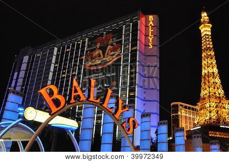 Bally's and Paris in Las Vegas