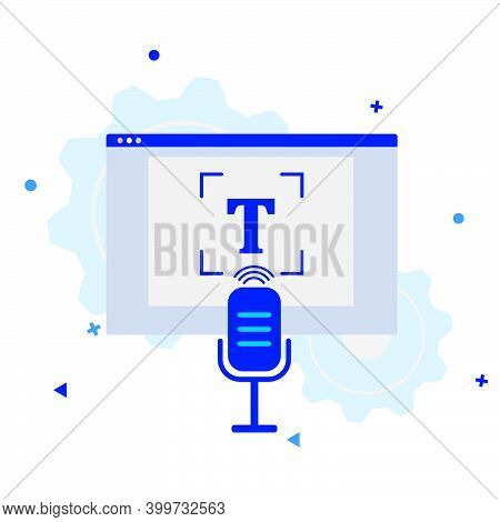 Audio Transcription Icon. Process Of Converting Speech Into Text Using Ai Technologies. Automatic Sp