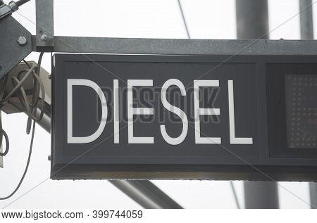 Diesel For Refueling A Diesel Vehicle