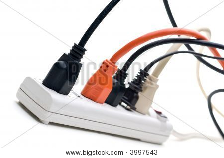 Plugs In A Power Strip