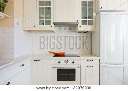 details of modern kitchen