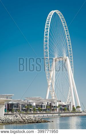 Dubai, Uae, January 20, 2021, Ain Dubai-the Biggest Giant Wheel In The World, Located In Bluewater's