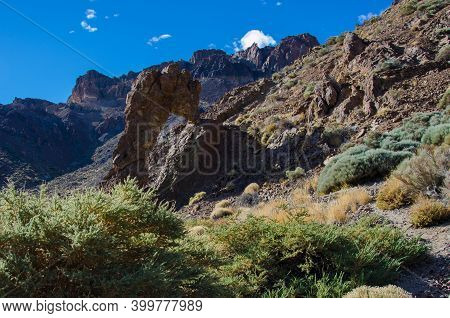 Tenerife Volcano Teide National Park. Pico Del Teide.