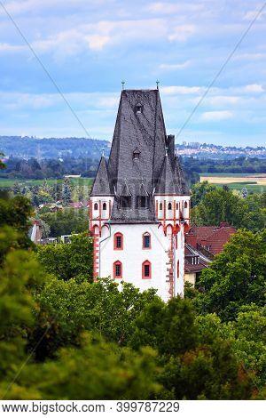 Wooden Tower In Mainz