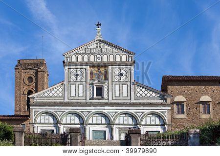 Italië. Florence. San Miniato al Monte