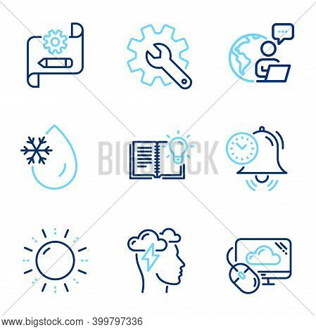 Science Icons Set. Included Icon As Mindfulness Stress, Time Management, Product Knowledge Signs. Cu