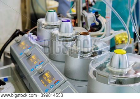 Bypass Circulation Unit An Artificial As A For Heart Surgery In Operating Room In Intensive Care Uni