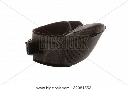 Isolated Grey Hip Seat On The White Background