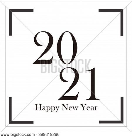 New Year 2021. Happy New Year 2021. Happy New Year 2021 Vector Background Illustration Template. Hap
