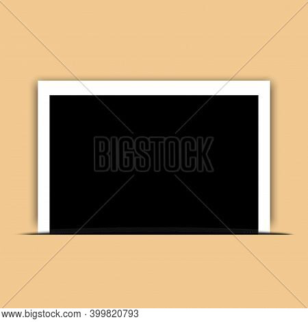Vintage Photo, Great Design For Any Purposes. Camera Icon. Photo Frame. Vintage Style Illustration.