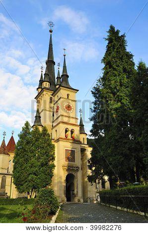 Saint Nicholas Church In Brasov
