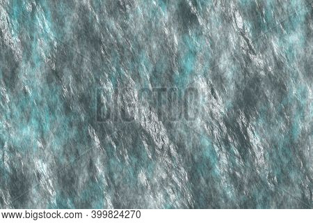 Artistic Light Blue Stonework Abstraction Digital Drawn Texture Or Background Illustration