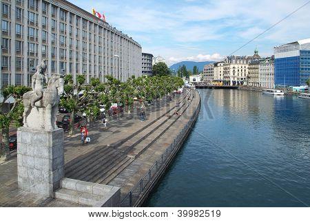 Gesamtansicht von Genf