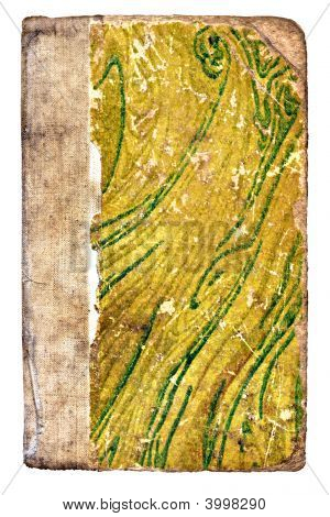 The Old Green Shabby Paper Cover