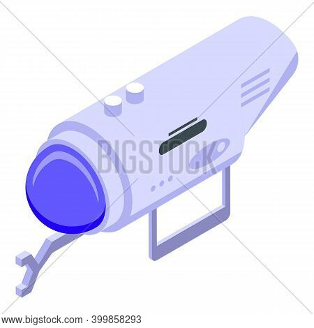 Diving Bathyscaphe Manipulator Icon. Isometric Of Diving Bathyscaphe Manipulator Vector Icon For Web