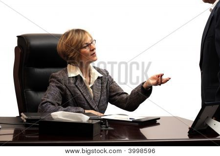 Woman Executive - Teamwork