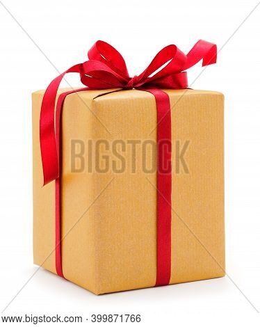Gift Boxes, Gifts On A White Background Isolated. Vacation. Valentine's Day. Women's Day. Mothers Da