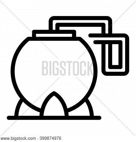Canola Fuel Icon. Outline Canola Fuel Vector Icon For Web Design Isolated On White Background