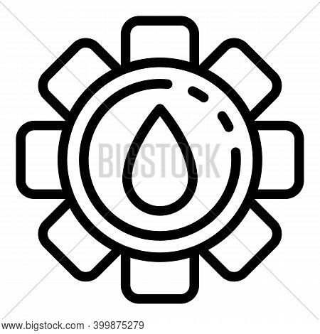 Extra Canola Oil Icon. Outline Extra Canola Oil Vector Icon For Web Design Isolated On White Backgro