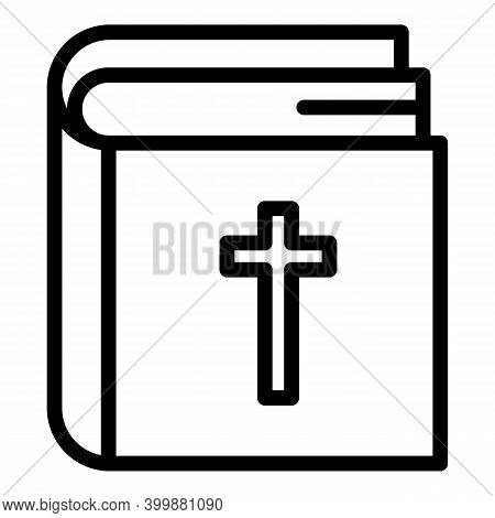 Religious Care Icon. Outline Religious Care Vector Icon For Web Design Isolated On White Background